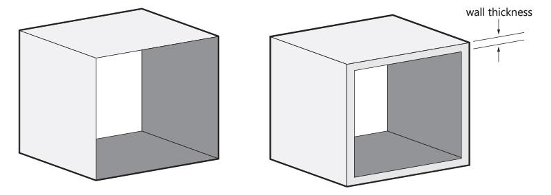 尼龙3D打印模型壁厚
