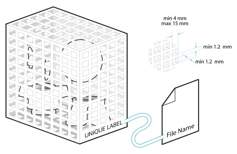 3D打印尼龙烧结盒